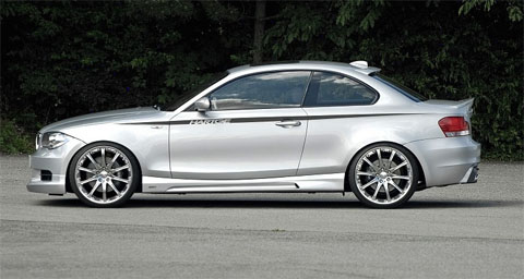 BMW 1 Coupe por Hartge
